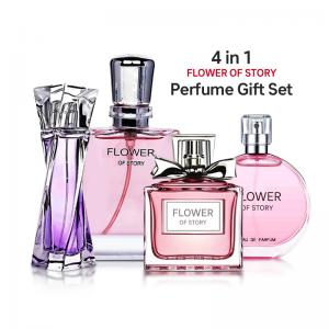 Flower of Story Perfume gift set Collection , 25ml x 4 Piece, PCP04