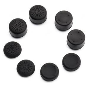 8PCS Rubber Silicone Cap Thumbstick Cover Case Skin Joystick Grips For PlayStation 4 PS4 Controller
