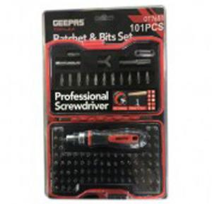 Geepas 101 Pcs Ratchet Screw - GT7651