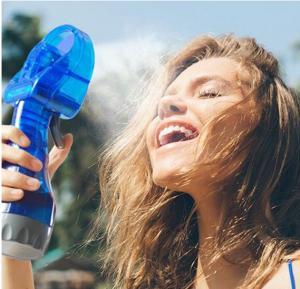 Hand Held Water Spray Cooling Fan