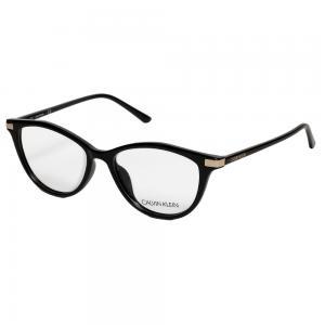 Calvin Klein CK19531 Cat Eye Black Eyeglasses For Women Crystal Lens, Size 53