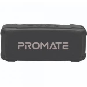 Promate Bluetooth Speaker with Mic, 6W HD Sound, 3H Playtime, FM, AUX, USB Port, SD Card Slot, OutBeat, Black