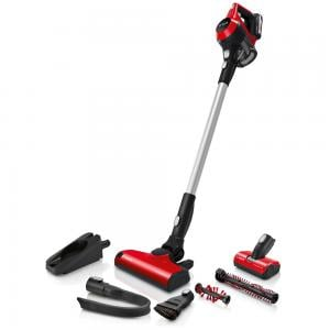 Bosch BCS61PETGB 6 Rechargeable Vacuum Cleaner Unlimited ProAnimal Red