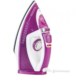 Black and Decker X2450-B5 2400W Steam Iron With Auto-off and Ceramic Plate, Purple