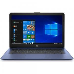 HP Stream 14 Notebook, 14 Inch Display, Celeron N4000 Processor, 4GB RAM 64GB, Win10, Blue