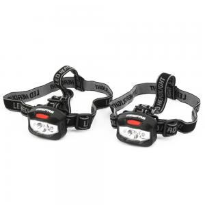 Geepas Led Head Torch,Pack Of 2, GHL51022UK