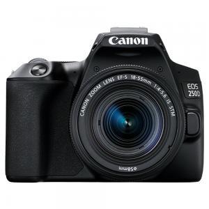 Canon EOS250D 4K SLR Camera Black