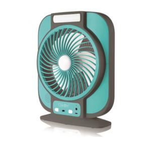 Clikon CK2221 Rechargeable 7 inch Fan With Blue tooth Speaker