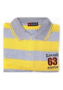 Generic Casual Tshirt for Men Yellow XXL