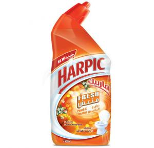 Harpic Fresh Peach and Jasmine Liquid Toilet Cleaner 750ml