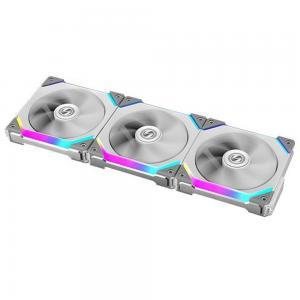 Lian Li Uni Fan SL 120 I 3 x 120 mm Addressable RGB Case Fan White