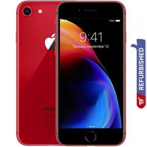 Apple iPhone 8, 2GB RAM, 256GB Storage, 4G LTE, Red, Refurbished