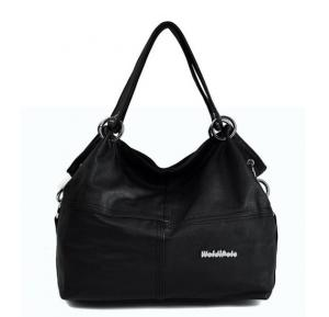 Vintage Shoulder Bag For Women - Black