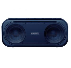 Promate True Wireless Speaker, Powerful 10W Wireless Bluetooth V5.0 Stereo Speaker with Built-In Mic, OTIC.NAVY