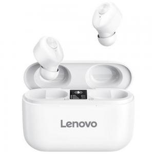 Lenovo HT18 Wireless TWS Bluetooth 5.0 Earphone, White