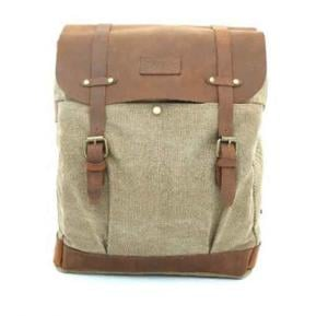 Para John Canvy Backpack Khaki - PJBP6610