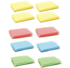 Royalford Mesh Cleaning Sponge 10 Pieces, RF7571