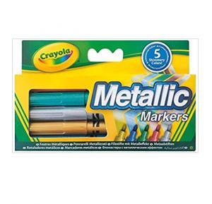 Crayola Metallic Markers, Multi-Colour - Cy58-5054