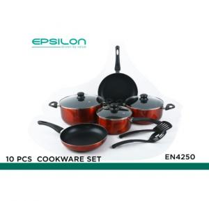 Epsilon 10 pcs cookware set - EN4250