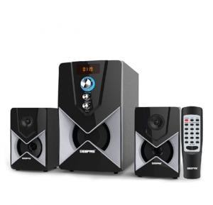 Geepas 2.1 Channel Multimedia Speaker GMS8515, With USB/SD card reader