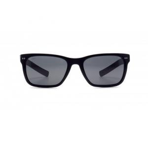 Giorgio Armani Wayfarer Black With Wood Temple Frame & Grey Mirrored Sunglasses For Unisex - 0AR8062-501787