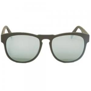 Italia Independent 0902.009.000 Unisex Wayfarer Shape Sunglasses Matt Black Acetate Frame
