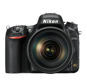 Nikon D750 24.3 Digital SLR Camera  Black Body