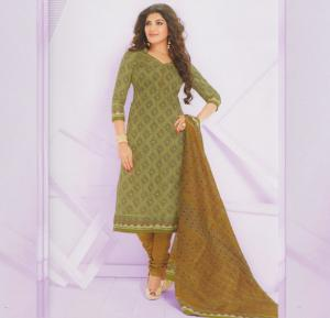 Handy Cott Outlook 1614 Churidar Dress Material