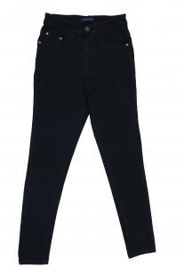 Zola Ladies Denim Jeans, Black- ZO6870