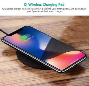 N5 Qi Wireless Charging Pad Wirless Charger Fast Charger Plate for All Qi Certified Devices