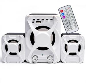 2.1 Mini Multimedia USB/FM Radio Speaker, FT- XSD-3U