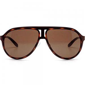Carrera 100/S - Havana Aviator Sunglasses For Unisex Brown Lens, Size 59