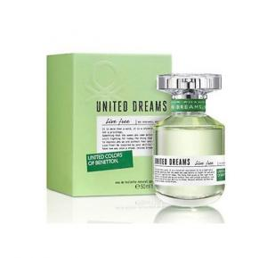 Colors of Benetton United Dreams Live Free for Women EDT 50ml