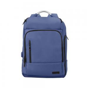 Promate Laptop Backpack Multi Storage Water Resistant 17.3 Inch, TREKPACK-BP.BLUE