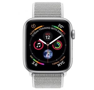 Apple Watch Series 4 44mm GPS + Cellular MTXJ2, White Nike Loop
