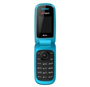 KGTel E1272 Mobile,1.77 Inch QVGA,Dual SIM,Bluetooth,USB,FM Radio-Blue