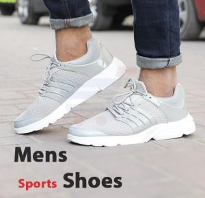 Mens Sports Shoes Grey Size US 43-T2035