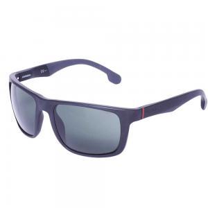 Carrera 8027/S Rectangle Sunglasses for Men Black, Size 57