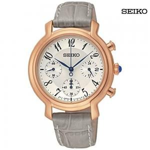 Seiko Ladies Dial Leather Band Watch, SRW872P1