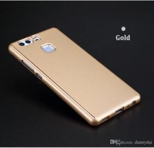 Huawei Compatible 360 degree Protective Case for Huawei P10 Gold