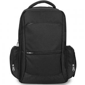 Alameda AL_0013_BL Unix Diaper Bag with USB charging cable Black