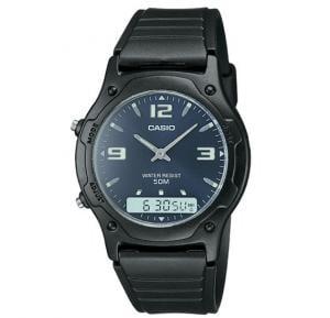 Casio AW-49HE-2AVDF Analog-Digital Mens Watch
