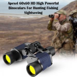Apexel 60x60 Binoculars  HD High Powerful Binoculars For Hunting Fishing Sightseeing