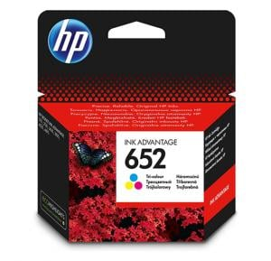 Hp F6v24ae Catridge Tri Color 652