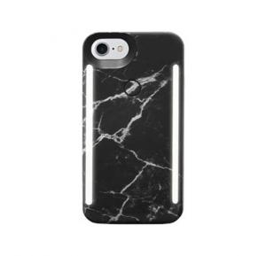 LuMee DUO for iPhone 6/6S 7/8 - Black Marble LD-IP8-BMR