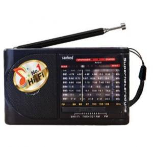 Sanford Rechargeable Portable Radio SF1018PR BS