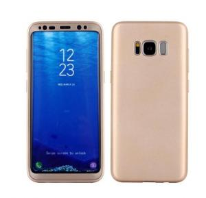 Samsung Compatible 360 degree Protective Case for Samsung S8 Gold