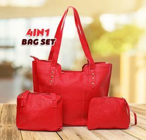 Jin huie 4in one sett bag FL2 Red