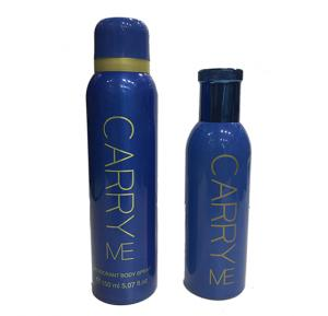 Carry Me Gift Set Edp Blue For Men and Women 100ml&Body Spray 150ml