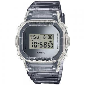 G-Shock Digital Mens Watch, DW-5600SK-1DR, Grey